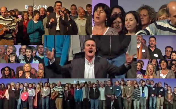 Irish Choir Performance – London Regional Conference UK